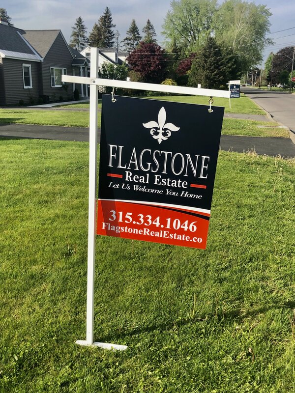 Real Estate Signs of Flagstone in Utica